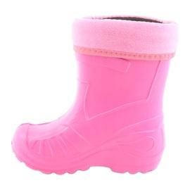 Befado children's footwear kalosz- róż 162X101 pink 3