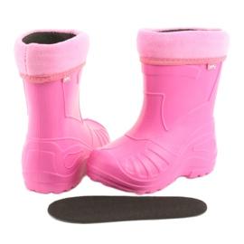 Befado children's footwear kalosz- róż 162X101 pink 5