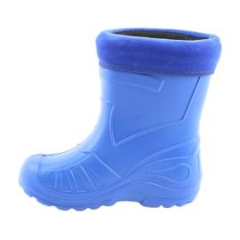 Befado children's rain boots 162x106 blue 2