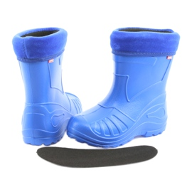 Befado children's rain boots 162x106 blue 4