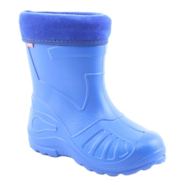 Befado children's shoes kalosz-chabrowy 162X106 blue 2