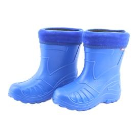Befado children's shoes kalosz-chabrowy 162X106 blue 4