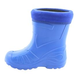 Befado children's shoes kalosz-chabrowy 162X106 blue 3
