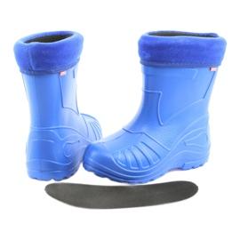 Befado children's shoes kalosz-chabrowy 162X106 blue 5