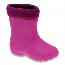 Befado children's footwear kalosz- róż 162X101 pink 1