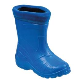 Befado children's shoes kalosz-chabrowy 162X106 blue 1