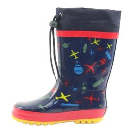 American Club American children's rain boots. SamoLot red navy 2