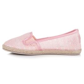 Balada Lace Espadrilles Slip On pink 1