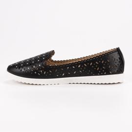 SHELOVET Openwork Slip On Sneakers black 8