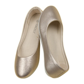 Vinceza Golden Ballerina brown 8