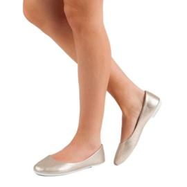 Vinceza Golden Ballerina brown 2