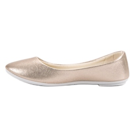 Vinceza Golden Ballerina brown 6