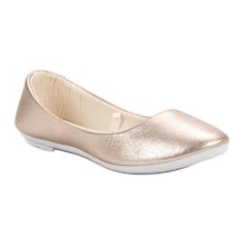 Vinceza Golden Ballerina brown 5
