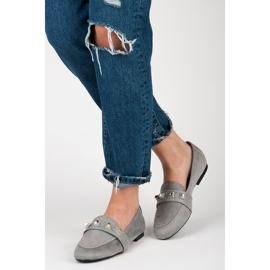 Vices Suede loafers grey 5