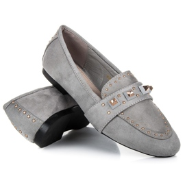 Vices Suede loafers grey 2