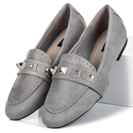 Vices Suede loafers grey 1