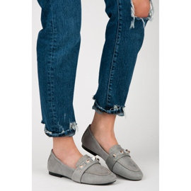 Vices Suede loafers grey 4
