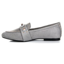 Vices Suede loafers grey 3