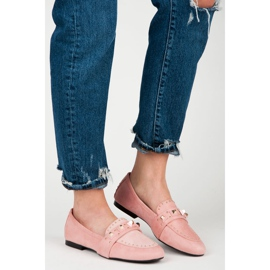Vices Suede loafers pink 4