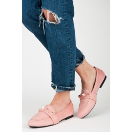Vices Suede loafers pink 5