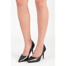 Vinceza Elegant Pearl Studs black 1