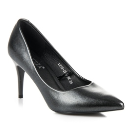 Vinceza Elegant Pearl Studs black 3