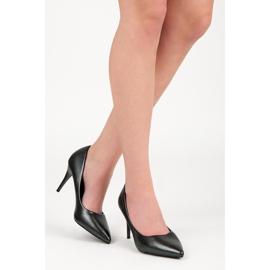 Vinceza Elegant Pearl Studs black 2