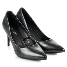 Vinceza Elegant Pearl Studs black 6
