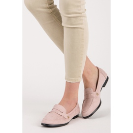 Seastar Suede loafers shoes pink 1