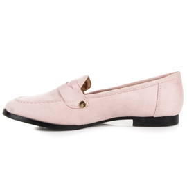 Seastar Suede loafers shoes pink 5