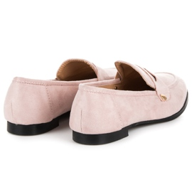 Seastar Suede loafers shoes pink 6