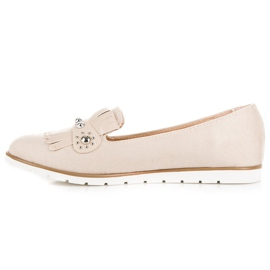 Seastar Suede Loafers With Fringes brown 2