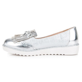 Moccasins on the VICES Platform grey 4