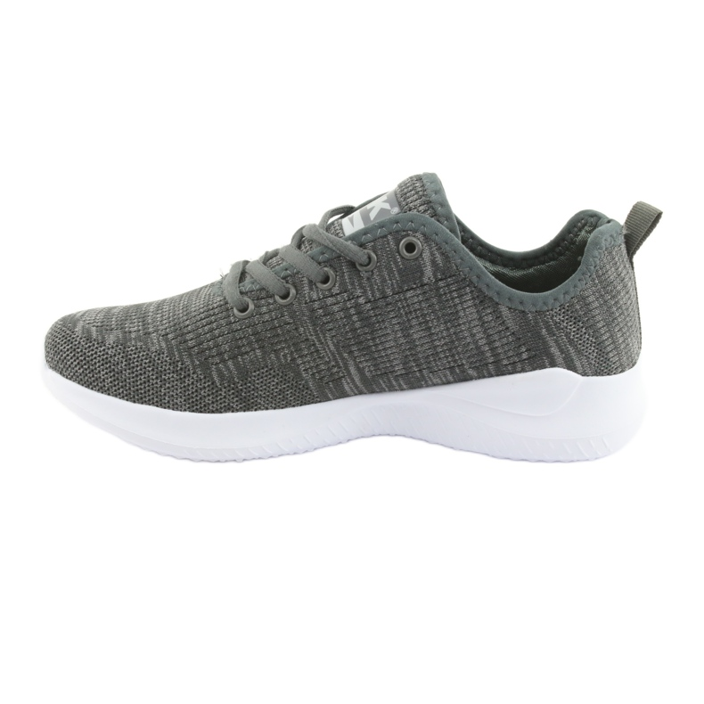 Grey Sport Shoes DK Gray SC235 picture 2