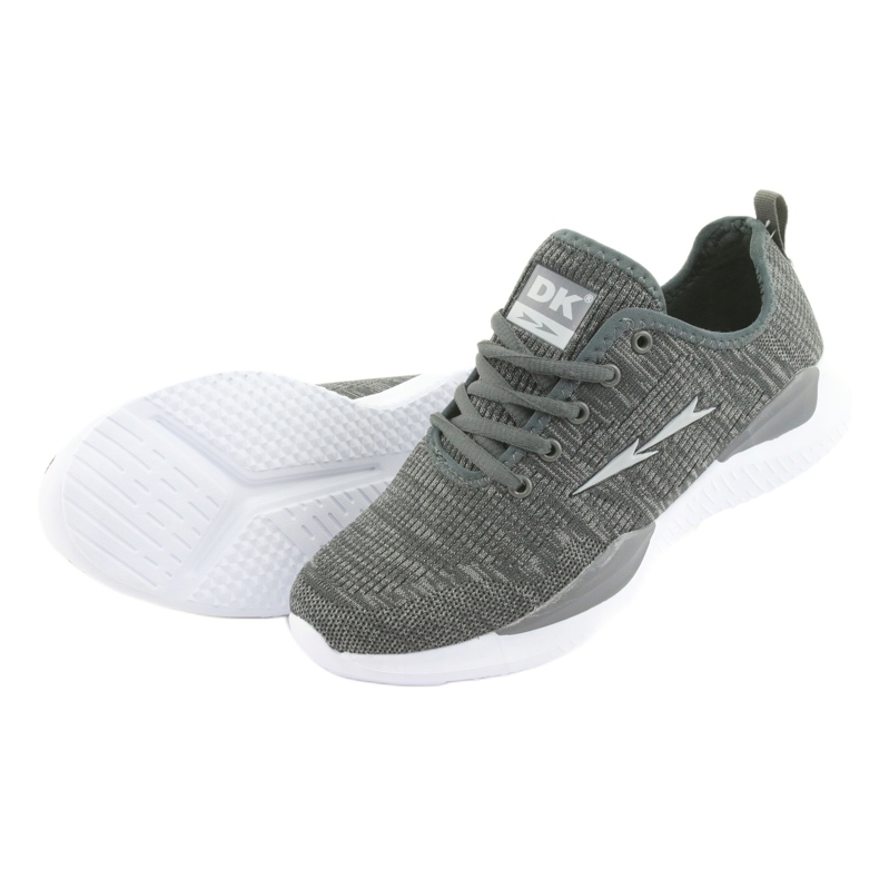 Grey Sport Shoes DK Gray SC235 picture 4