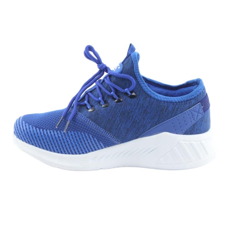 Men's sports shoes DK 18470 royal blue picture 2