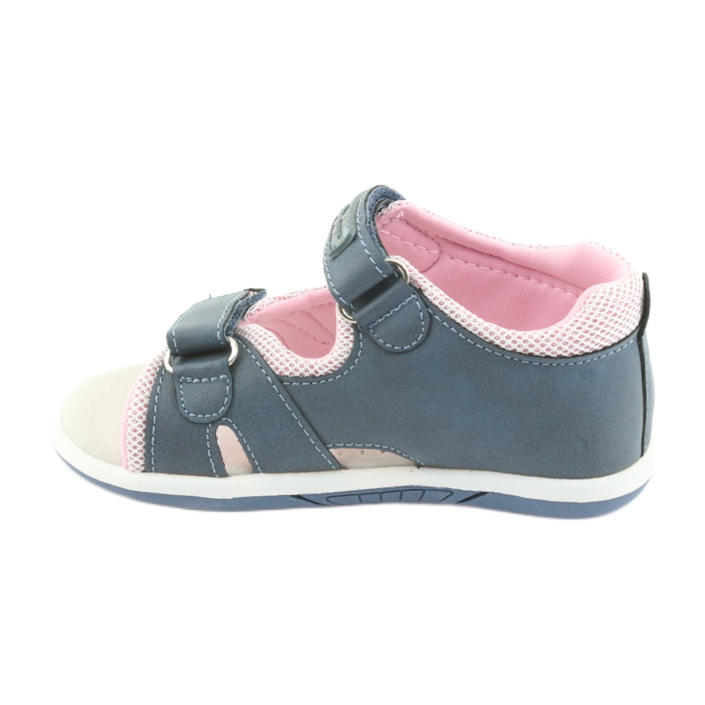Girls' sandals American Club DR20 denim picture 2