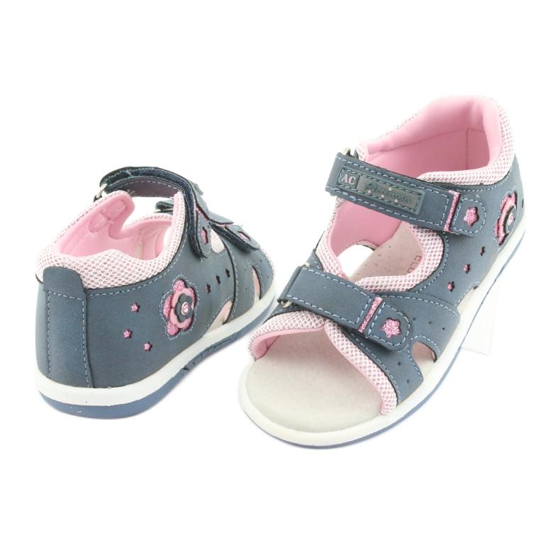 Girls' sandals American Club DR20 denim picture 4