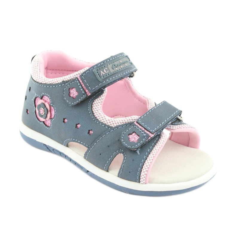 Girls' sandals American Club DR20 denim picture 1