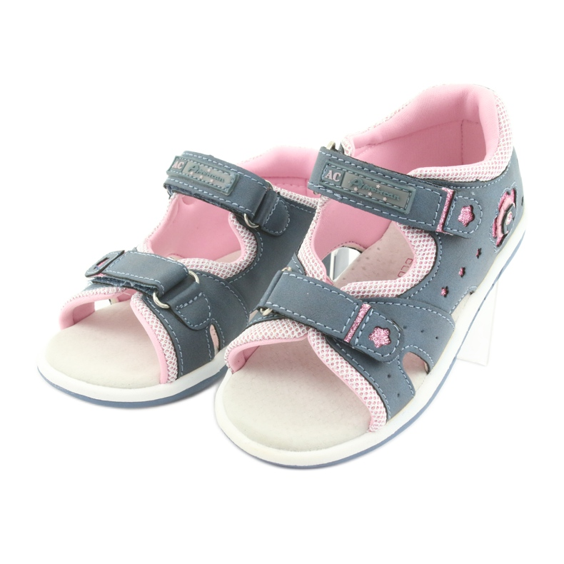Girls' sandals American Club DR20 denim picture 3