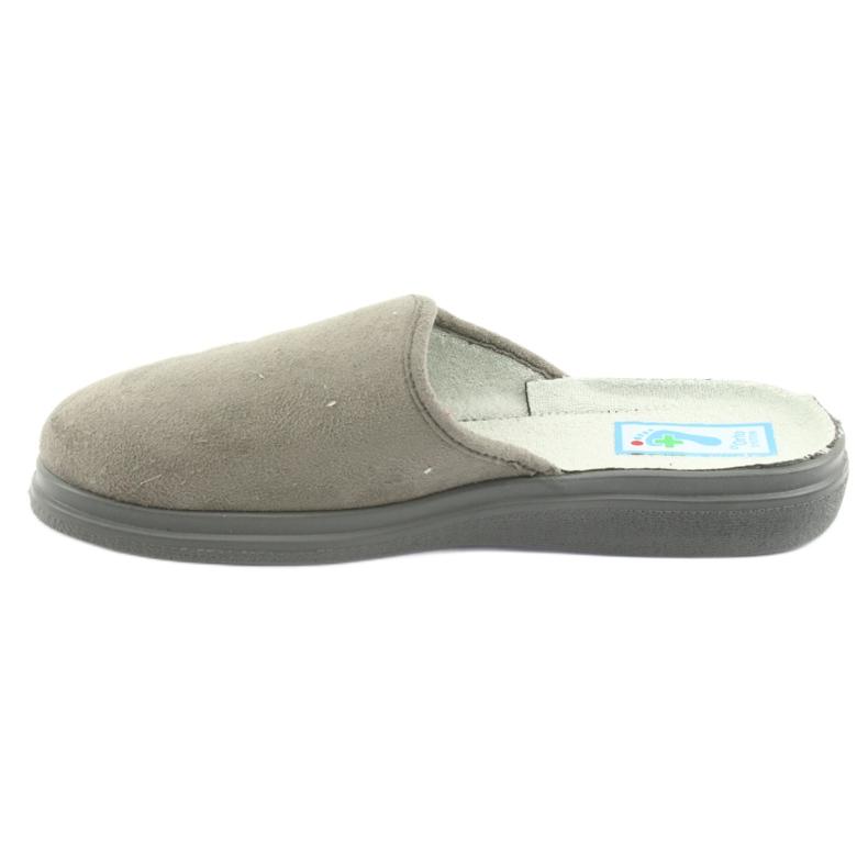 Grey Befado women's shoes pu 132D013 picture 2