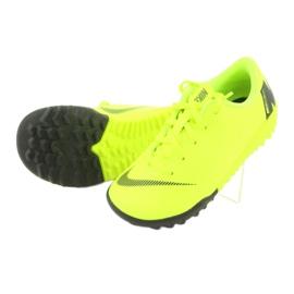 Nike Mercurial VaporX 12 Academy Tf Jr AH7353-701 Football Boots yellow yellow 6