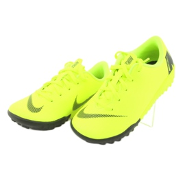 Nike Mercurial VaporX 12 Academy Tf Jr AH7353-701 Football Boots yellow yellow 4