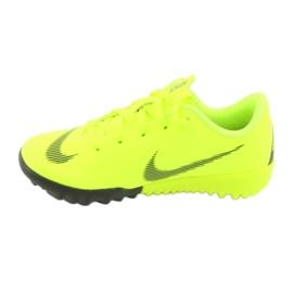 Nike Mercurial VaporX 12 Academy Tf Jr AH7353-701 Football Boots yellow yellow 3