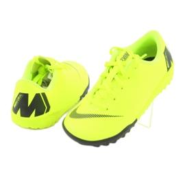 Nike Mercurial VaporX 12 Academy Tf Jr AH7353-701 Football Boots yellow yellow 5