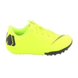 Nike Mercurial VaporX 12 Academy Tf Jr AH7353-701 Football Boots yellow yellow 1