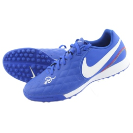 Football shoes Nike Tiempo Legend 7 Academy 10R Tf M AQ2218-410 blue 5