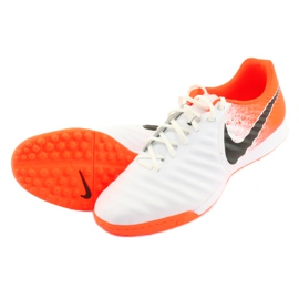 Football shoes Nike Tiempo LegendX 7 Academy Tf M AH7243-118 white multicolored 4