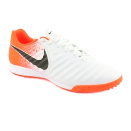 Football shoes Nike Tiempo LegendX 7 Academy Tf M AH7243-118 white multicolored 1