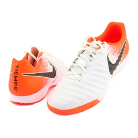 Football shoes Nike Tiempo LegendX 7 Academy Tf M AH7243-118 white multicolored 3